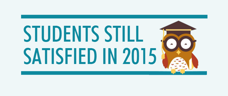 Are Students Still Satisfied in 2015