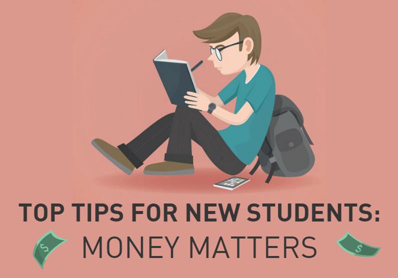 Top Tips for New Students - Money.hEADER