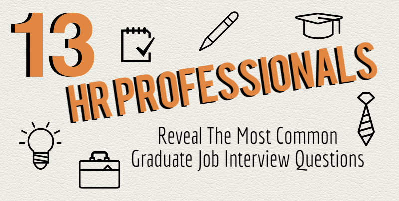 13 HR Professionals Reveal The Top Graduate Job Interview Questions
